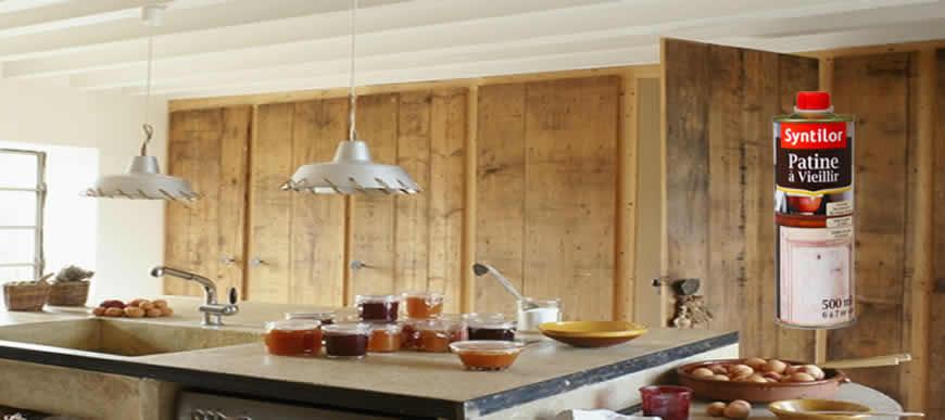 Donnez un aspect patiné & vieilli à vos meubles